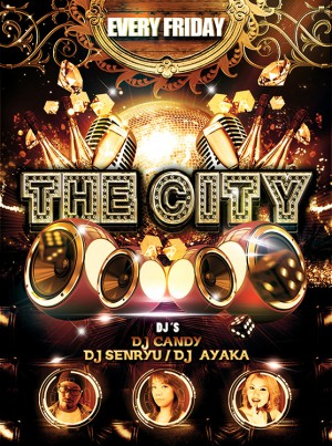 every FRI THE CITY @名古屋のクラブ W