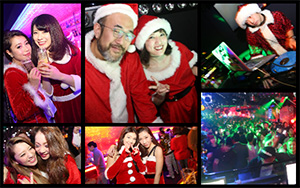Xmas party 2017 DJ MURAKAMIGO